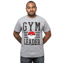 Pokémon Gym Leader T-Shirt - Grey
