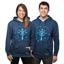 The Legend of Zelda: Breath of the Wild Pullover Hoodie - Blue
