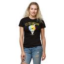 Ice Creamicorn Ladies' T-Shirt - Black