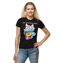 They'll Never Suspect Science Ladies' T-Shirt - Black