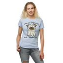 I Sniff Big Butts Ladies' T-Shirt - Blue