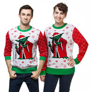 Star Wars Yoda Holiday Sweater - Red