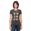 Pusheen Pizza: A How To Ladies' Relaxed T-Shirt - Grey