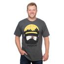 Robocop City Head T-Shirt - Grey
