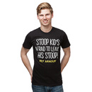 Hey Arnold! Stoop Kid T-Shirt - Black