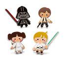 Star Wars Heroes and Villains Lapel Pin Set