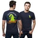 Rugrats Reptar Meteor T-Shirt - Navy