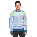 Bob's Burgers Holiday Sweater - Blue