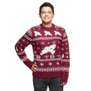 Firefly Holiday Sweater - Maroon