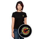 Futurama Planet Express Ladies' T-Shirt - Black