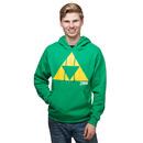 Legend of Zelda Triforce Pull-Over Hoodie - Green