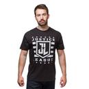 Justice League Logo T-Shirt - Black