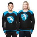 Valiant Harbinger Unisex Sweater - Black/Blue