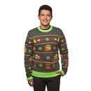 The Legend of Zelda Holiday Sweater - Black