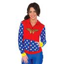 Wonder Woman Hoodie - Blue/Red