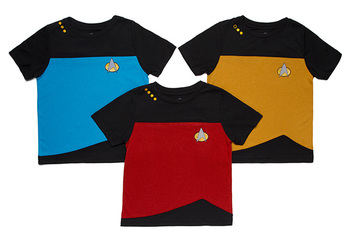 Star Trek TNG Uniform Toddler Tee - Exclusive - Red (Command)