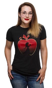 Snow White The Red Apple Ladies' Tee - Black