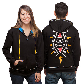 The Legend of Zelda: Breath of the Wild Zip Up Hoodie - Black