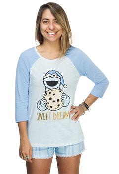 Cookie Monster Ladies' Sleep Set - Blue