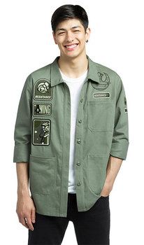 Star Wars Resistance Army Jacket - Olive Green
