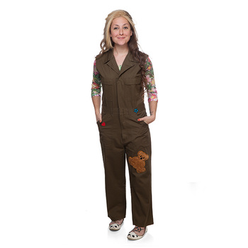 Firefly Kaylee Cosplay Overalls - Military Green