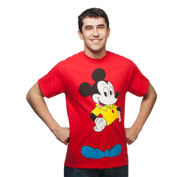 Back to the Future Mickey Mouse Replica T-Shirt - Red