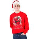 Star Wars Yoda Carrying Presents Ugly Christmas Xmas Sweatshirt