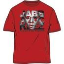 Jabbawockeez Dance Face Fill Logo Red T-shirt
