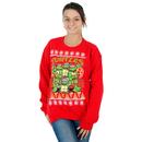 TMNT Sewer Ugly Christmas Sweatshirt