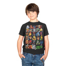 Marvel Superheroes Head Strong Black Youth T-shirt
