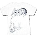 Alice In Wonderland Cheshire Cat Tree T-shirt