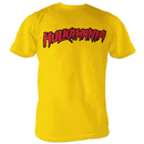 Hulkamania Gold T-shirt