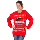 Jurassic World T Rex Logo Ugly Christmas Xmas Sweatshirt