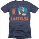 Popeye the Sailorman I Love Heart Sailors T-shirt