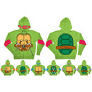 TMNT Costume Hooded Sweatshirt with Detachable Eye Mask