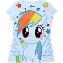 Friendship Is Magic Rainbow Dash Sparkle Hair T-shirt