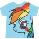 Rainbow Dash Hearts and Rainbows T-shirt
