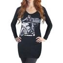 Daryl Dixon Badass Long Sleeve Cover-Up T-shirt