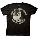 Arm Like A Damn Rocket Mind of a Scientist T-shirt