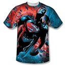 Superman Adult Sublimated T-Shirt