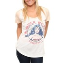 "Wonder Woman Bombshell ""The Outfielder"" Raglan T-shirt"
