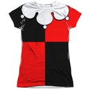 Harley Quinn Juniors Sublimation Costume T-Shirt