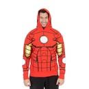 I Am Iron Man LED Light Up Hoodie Sweatshirt