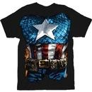 Captain America The American Way Costume T-shirt