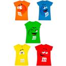 Juniors M&M's Character Face T-Shirt