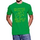 Led Zeppelin 1977 Tour Green T-shirt