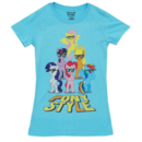 Mane 6 Pony Style with Glasses T-Shirt