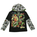 TMNT Characters T-shirt with Hood