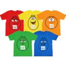 M&M's Big Face Toddler T-Shirt