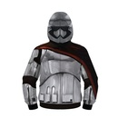 Star Wars Captain Phasma Poly Zip Up Costume Hoodie